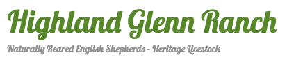 Highland Glenn Ranch Retina Logo